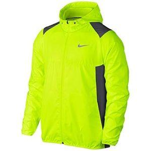 Men's Nike Golf Neon Yellow Water Resistant Jacket